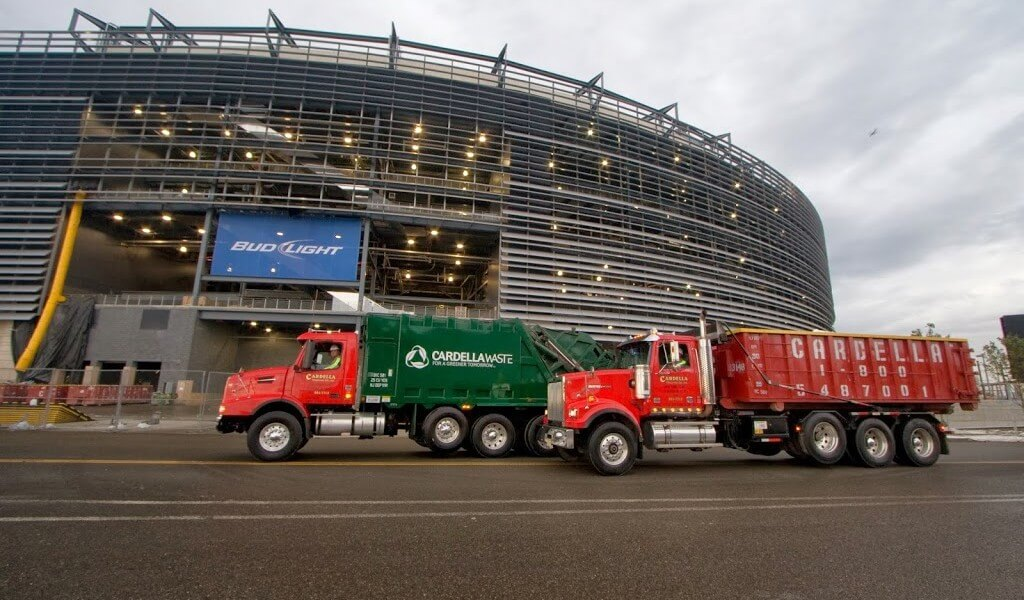 Construction Waste Management at MetLife Stadium