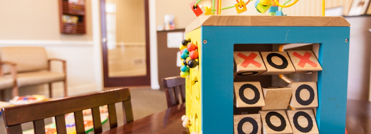 Your Child's Smile Waiting Room Toy Tic Tac Toe