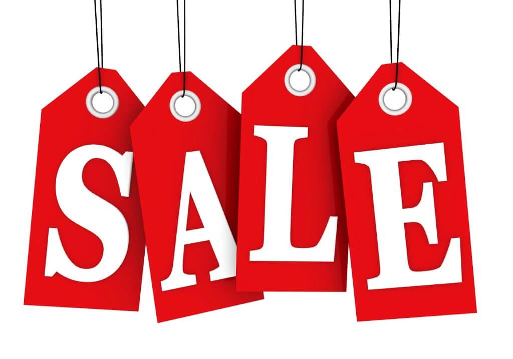 Sale tag courtesy of Jagoe Homes