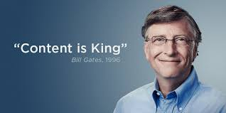Bill Gates quote on content