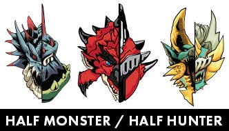 HALF MONSTER / HALF HUNTER