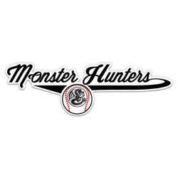 Monster Hunters Baseball Stickers
