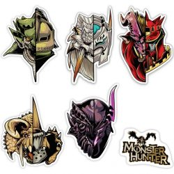Half Monster / Half Hunter Sticker Packs