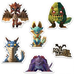 Monster Hunter Minis Sticker Packs