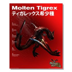 Molten Tigrex Official Arts Poster
