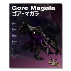 Gore Magala Official Arts Poster