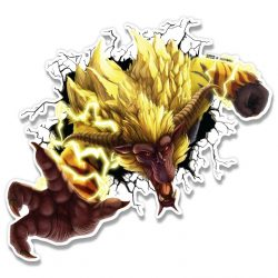 Rajang Vinyl Sticker