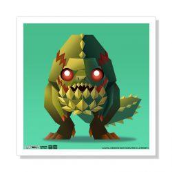 """Mini Deviljho 5""""x5"""" Art Print"""