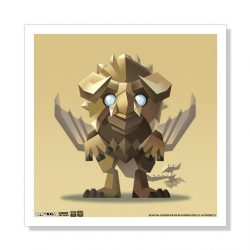 "Mini Diablos 5""x5"" Art Print"