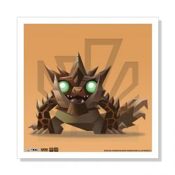 "Mini Akantor 5""x5"" Art Print"