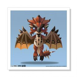 "Mini Rathalos 5""x5"" Art Print"