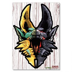 "Limited Edition Half Zinogre / Half Stygian Zinogre 18"" Wall Decal"