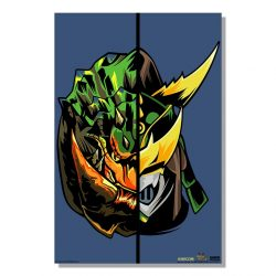 "Navy Half Monster / Half Hunter Berserk Tetsucabra 24x36"" Poster"