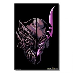 "Black Half Monster / Half Hunter Gore Magala 24x36"" Poster"
