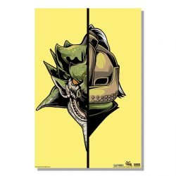 "Lime Half Monster / Half Hunter Rathian 24x36"" Poster"