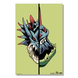 "Green Half Monster / Half Hunter Lagiacrus 24x36"" Poster"