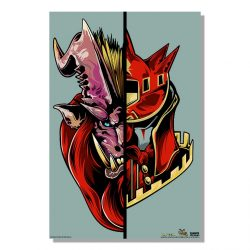"Viridian Half Monster / Half Hunter Teostra 24x36"" Poster"
