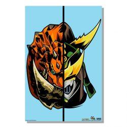 """Aqua Half Monster / Half Hunter Tetsucabra 24x36"""" Poster"""