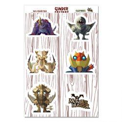 Minis Half Pack 2 - 6 Vinyl Stickers