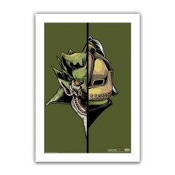 "Olive Half / Half Rathian 6.6x10"" Art Print"