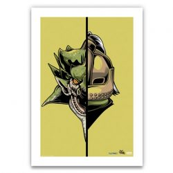 "Light Green Half / Half Rathian 6.6x10"" Art Print"