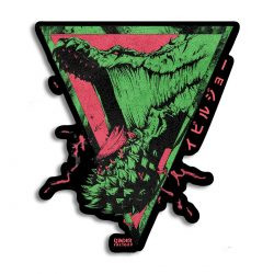 Deviljho Tri-Angles Vinyl Sticker
