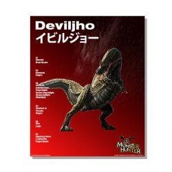 Deviljho Official Arts Poster