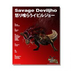 Savage Deviljho Official Arts Poster