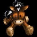Pony Shetland Liver chestnut