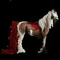 Licorne de selle Gris Clair
