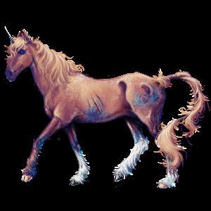 Licorne de selle Paint Horse Pie Tobiano Bai Brûlé