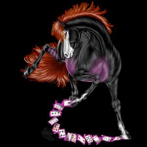 Верховая лошадь Лошадь лузитанской породы Гнедая