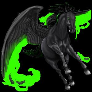 Pegasus-Reitpferd Argentinischer Criollo Falbe