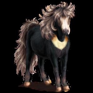 Pegasus pony Quarter Pony Flaxen Chestnut