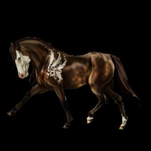 Riding Horse Purebred Spanish Horse Liver chestnut