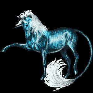 Крылатый верховой единорог Фриз, Фризская Вороная