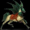 Pégase de selle Quarter Horse Alezan Brûlé