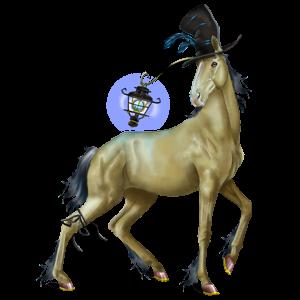 Cheval de selle Quarter Horse Alezan Brûlé