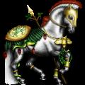 حصان ركوب حصان اسباني أصيل  كميت كرزي