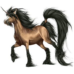 Unicorn pony Connemara Dun