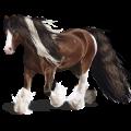 Cheval de selle Paint Horse Pie Tovero Palomino
