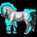 Pony Chincoteague Pony Flaxen Chestnut