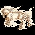 Rijpaard Arabier Gespikkeld grijs