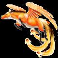 Pegasus-Reitpferd Lusitano Dunkelbrauner