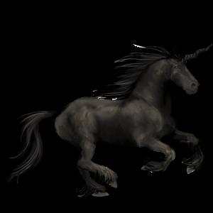 Unicorn Pursânge Arab Roib închis