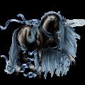 Unicornio de montar Marwary Alazán tostado