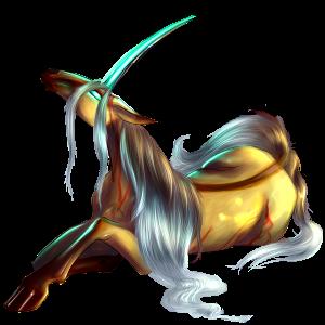 Licorne de selle Cheval Canadien Bai Cerise