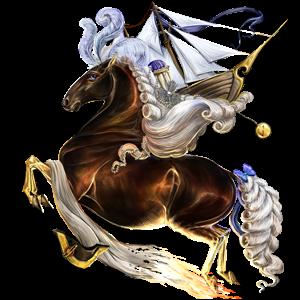 Riding pegasus Akhal-Teke Dark Bay