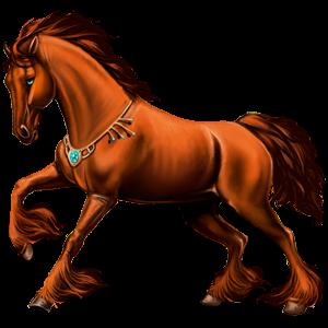 Cavallo da corsa Cavallo Arabo Daino