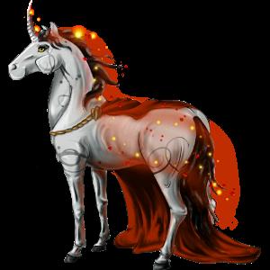 Poney licorne Welsh Bai Cerise